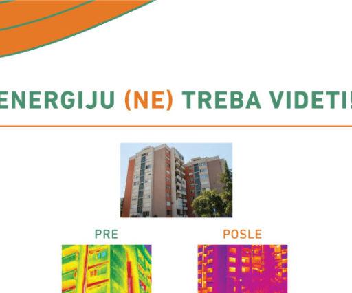 Potrošnja energije u zgradama pre i posle izolacije