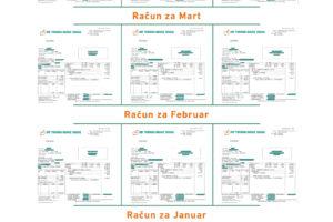 Uporedni pregled potrošnje u stanovima izolovanih – neizolovanih zgrada, sa ili bez merenja potrošnje toplotne energije